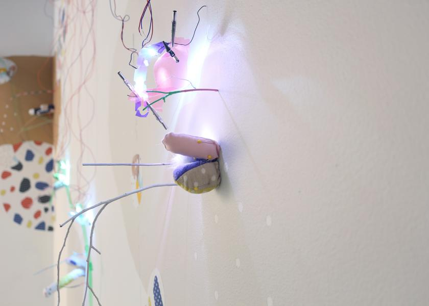 installation, LEDs,