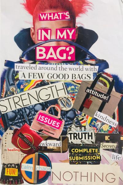 baggage, travel, purse