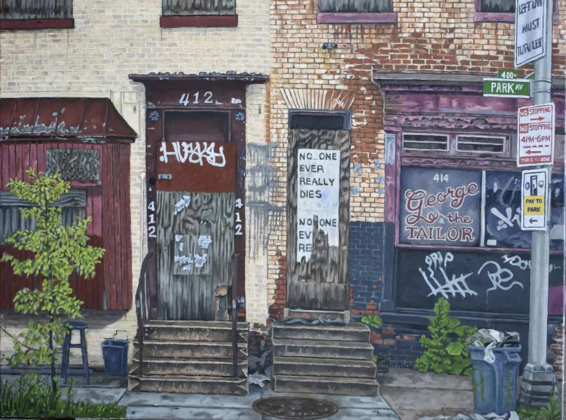 Baltimore Ruins XII, Mixed Messages