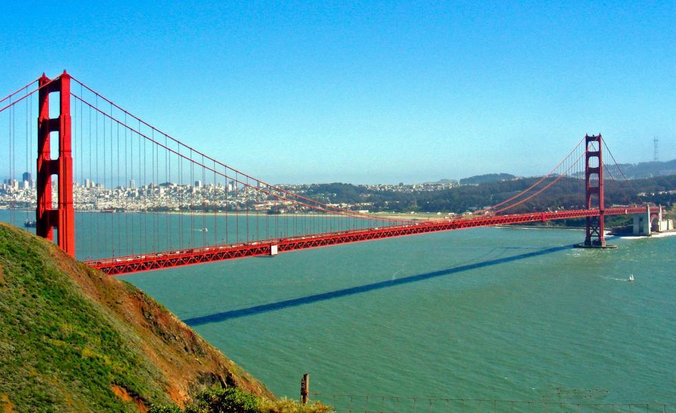 The San Francisco Suspension Bridge