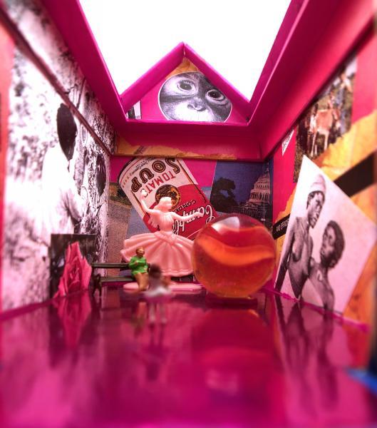 teeny theaters, miniature diorama, Mars Tokyo