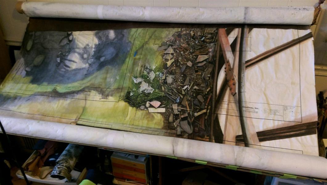 Painting, Work in Progress