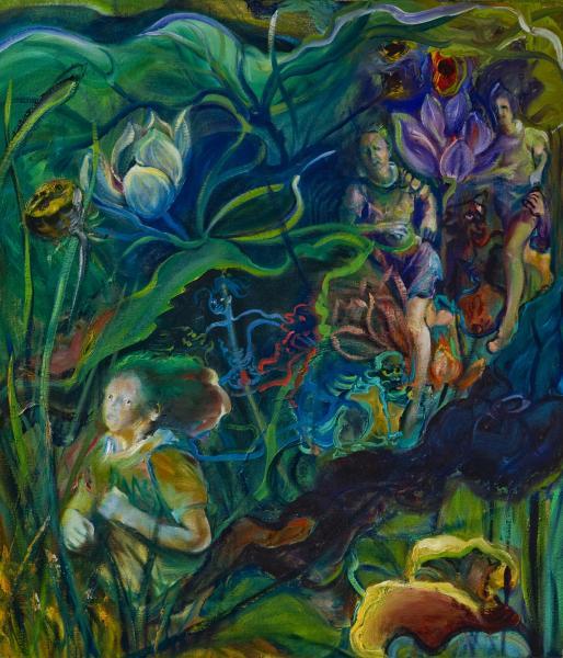 heroine, Buddhist myth, political allegory,