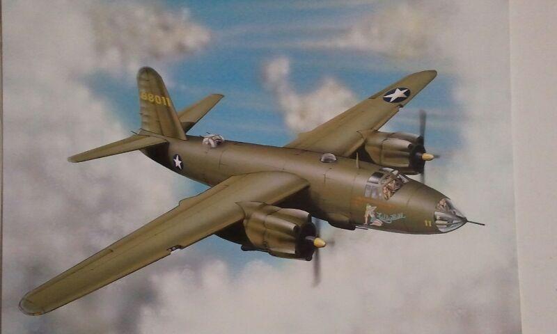B-26, Marauder, bomber Martins
