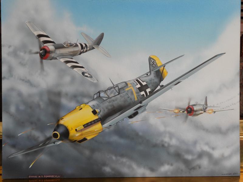 Messerschmitt , Thunderbolts,Jugs, WW2.