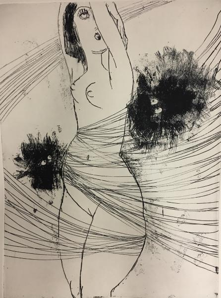 Ariadne etching
