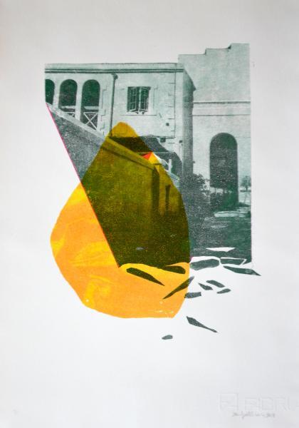 Chilling Desert Air print on paper