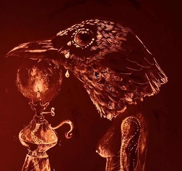 Merbird Human tears lighting the way.
