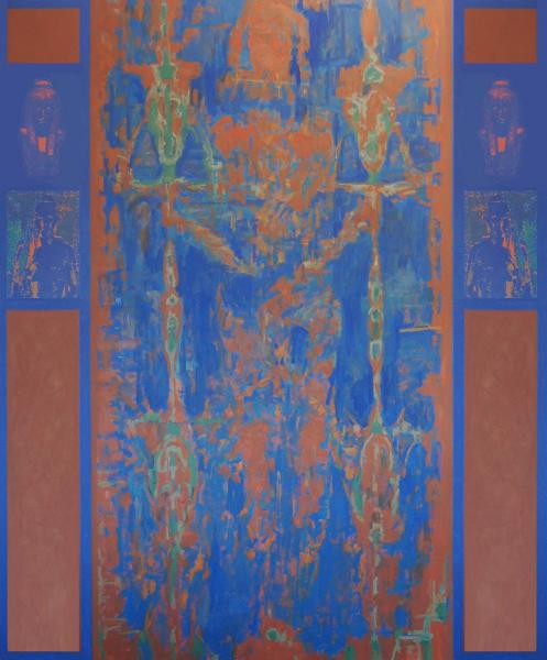 Shroud of Turin Blue