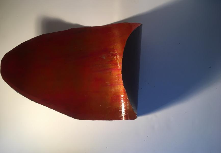 sculpture, steel, mixed media