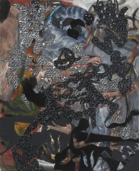 pigment on canvas