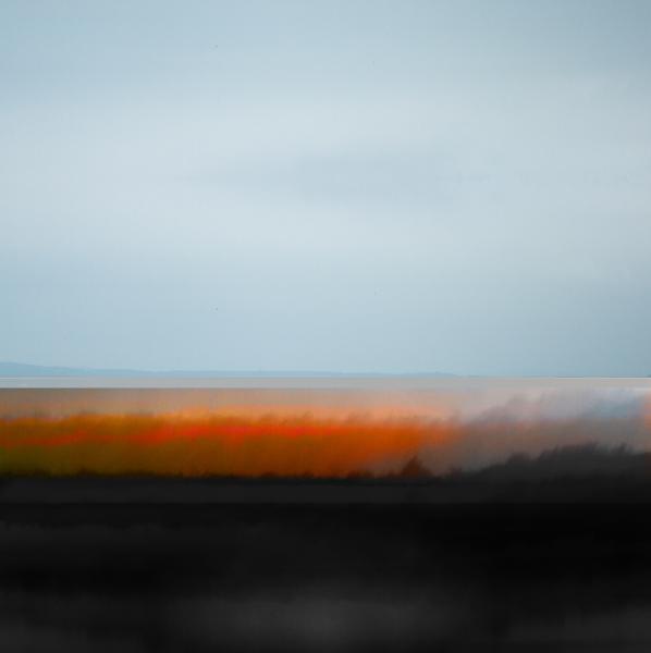 The Sky is Lemonlime/Umbered Orange