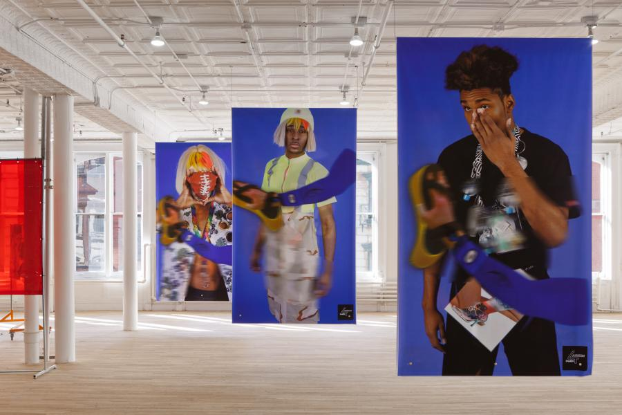 Surrogate assist in the care and production of an exhibition – producing a lead protagonist.