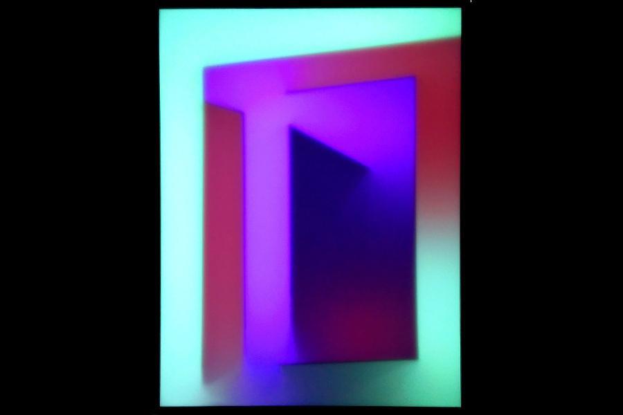Descent / Descant, a light painting