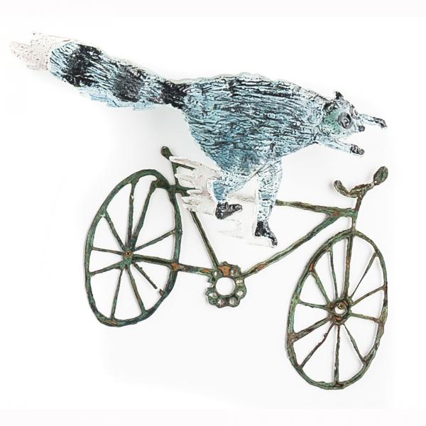 On Bicycles and Skateboards (detail)