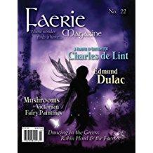 """Faerie Magazine"" number 22, contains Vonnie's story, ""Birdling."""