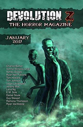"""Devolution Z Horror Magazine"" January 2017 contains Vonnie's story ""Justice."""