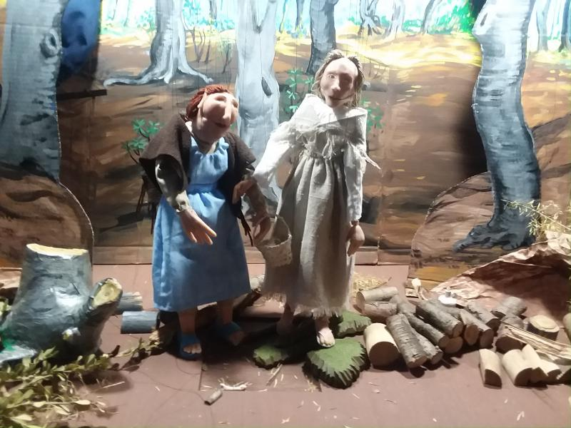 Marionettes by M.J.Oelke, puppets, puppetry, puppet theatre