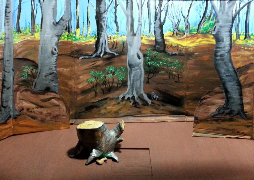 set design and scene painting
