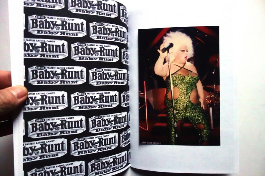 Deep Dark Trouble, 2011. Published to coincide with an exhibition at Melt Gallery in Los Angeles. More obsessive concepts of advertising and marketing in this Divine themed zine that includes an original photo of Divinen taken by myself.