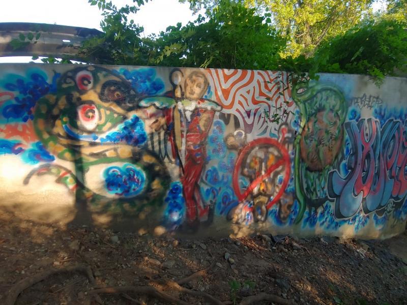 painting, contemporary, spray paint, graffiti, artist, female, street art