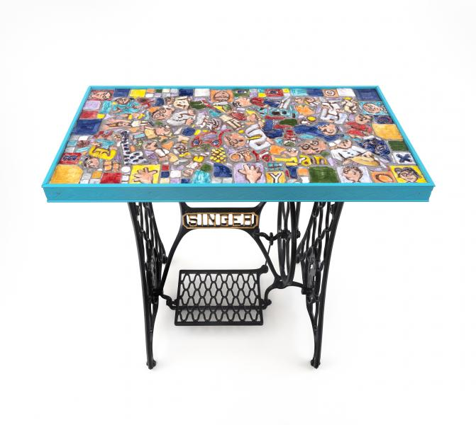 """Eyecandy"" (with Singer Table)"