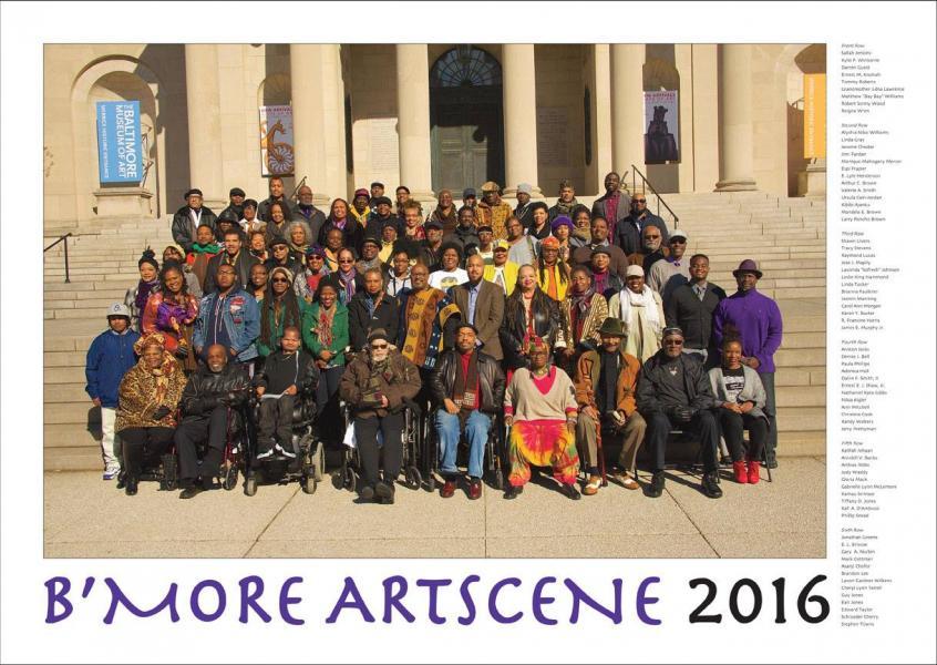 B'more Artscene Poster