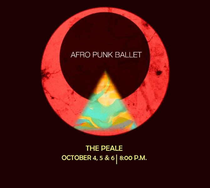 Afro Punk Ballet logo against a black background.