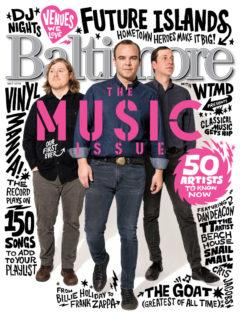 Color image of the May Music issue cover