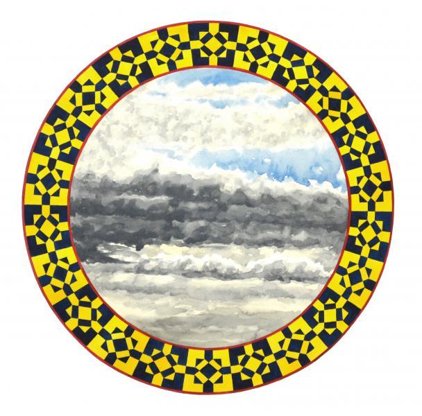 ponemone planet watercolor mosaic