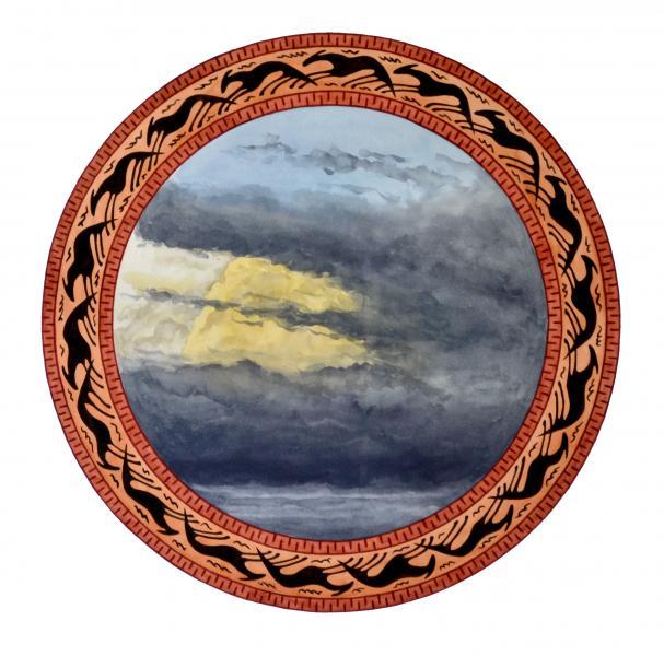 ponemone planet watercolor greek