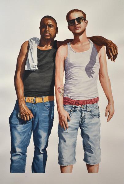 black white males