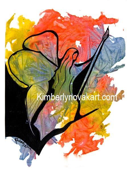 Artist, Angel, India Ink, Maryland Artist, Painter