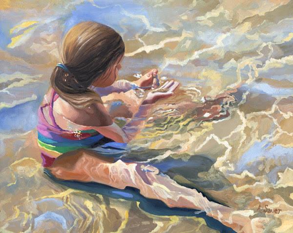 water, distortion, refraction