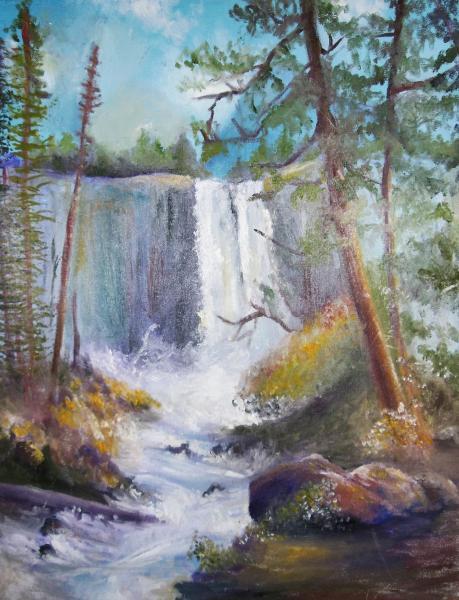 artist, exhibition, oil painting, landscape painting, landscape exhibition
