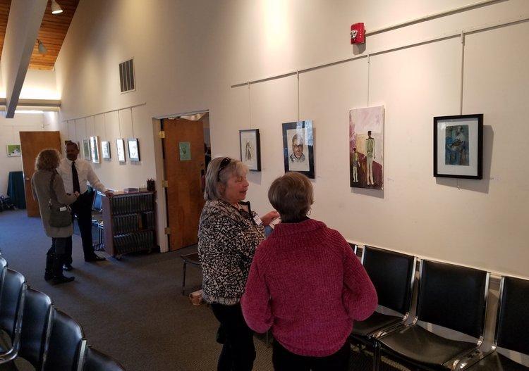 artist, art exhibition, landscape exhibition, oil painting, landscape painting, contemporary