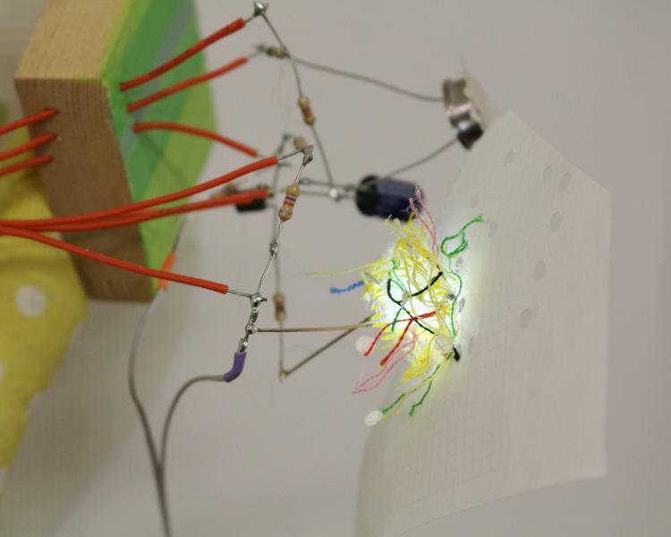 Light Emitting Study (detail)