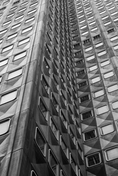 Alcoa Building black and white structure abstract aluminum building Pittsburgh Pennsylvania