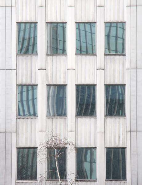 Behind Bars structure architecture abstract windows reflection building Pittsburgh Pennsylvania