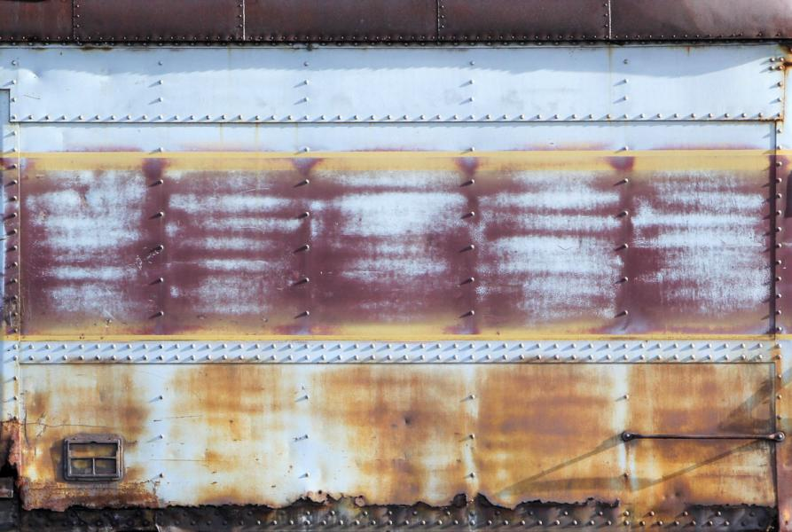 Fading Away train railroad railcar rail car abstract paint rust Steamtown National Historic Site Scranton Pennsylvania
