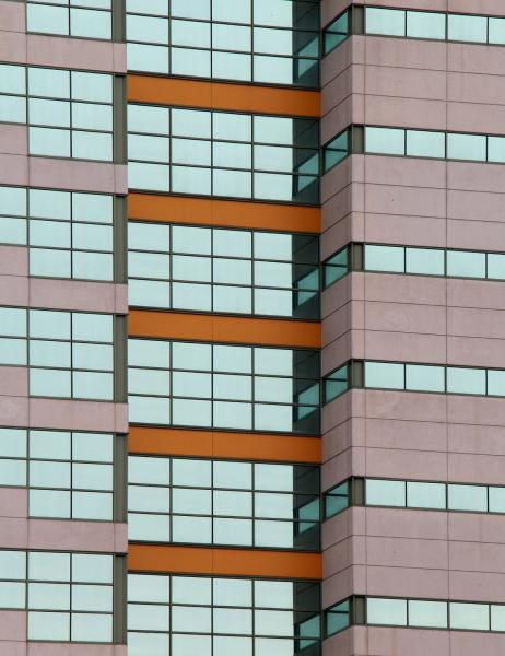 Layers color abstract Rachel Carson building structure windows Harrisburg Pennsylvania