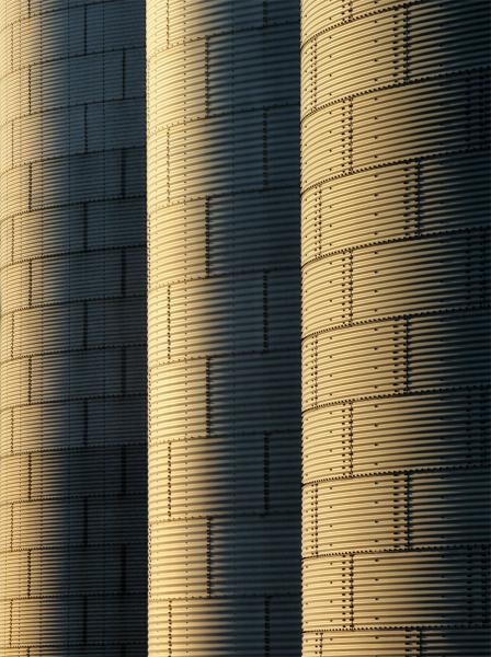 The Towers abstract architecture grain storage farm patterns three Littlestown Pennsylvania