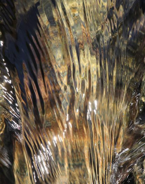 Waterfall water abstract Westminster Maryland Carroll County Morgan Run Creek