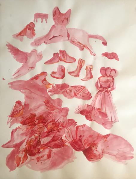Triptych 1 - Red Ballad