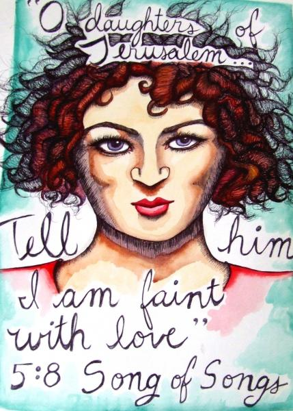 #songofsongs #bible #scripture #jerusalem #watercolor