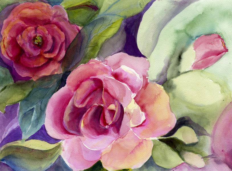 Rose Garden Delight