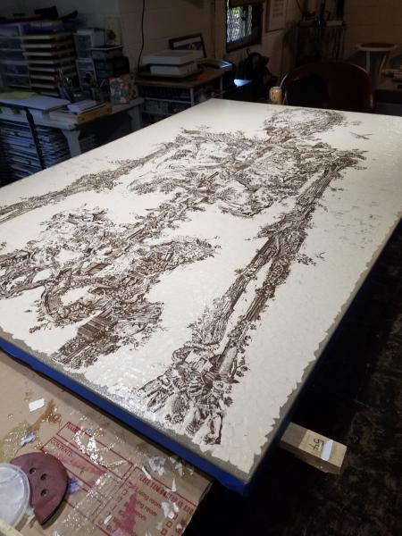 Skeleton art, katenorrisart, mixedmediacollage, collageart