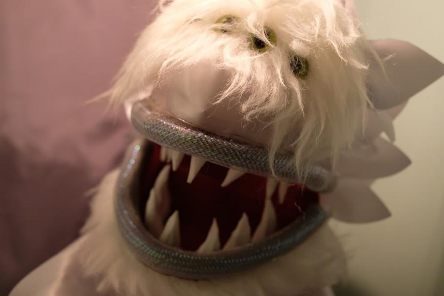 Toothy Creature puppet from H.T. Darling's Incredible Musaeum