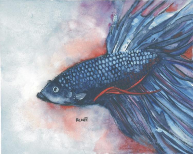 watercolor, paintings