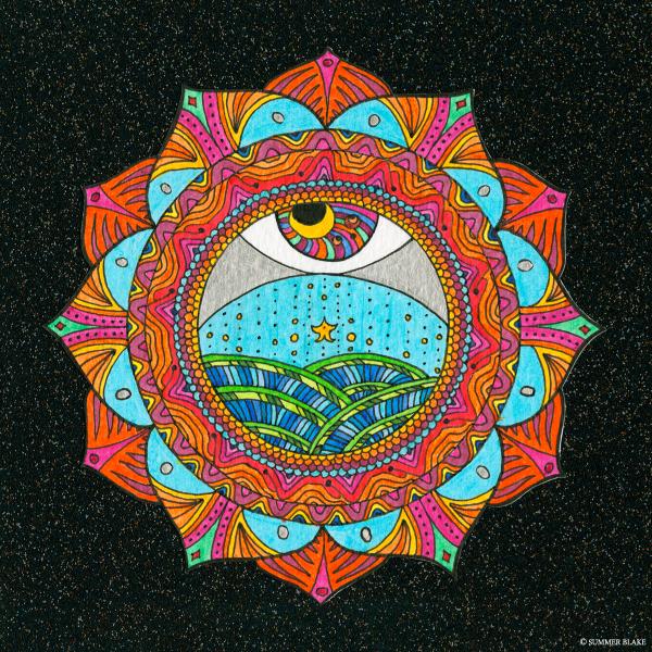 The Solar Plexus Chakra (c) Summer Blake 2016